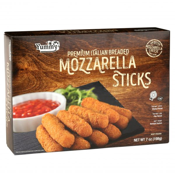 YUMMYS BREADED MOZARELLA STICKS