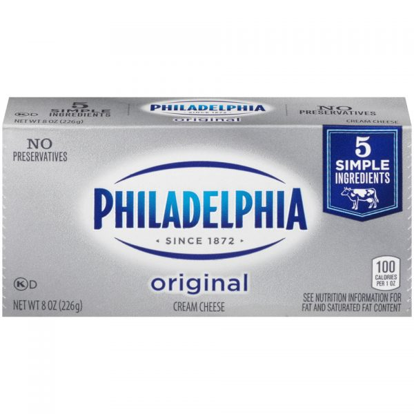 PHILADELPHIA CREAM CHEESE BAR ORIGINAL