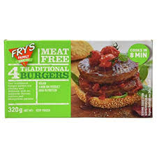 FRYS TRADITIONAL BURGERS