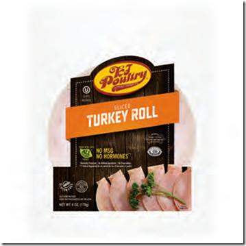 KJ SLICED TURKEY ROLL