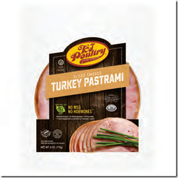 KJ SL TURKEY PASTRAMI