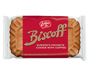 lotus biscuit in wrapper